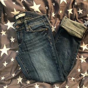Bullhead Crop Skinny Jeans 1